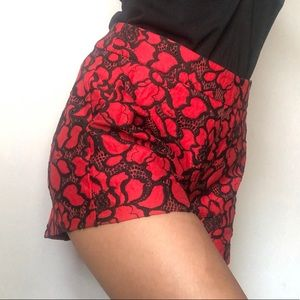Flower pattern shorts 🥀